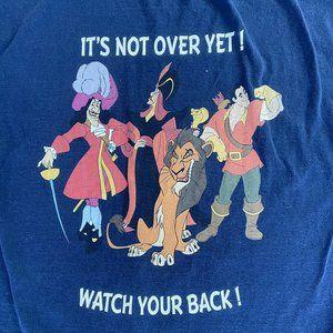 Unique! Disney Male Villains T-Shirt Men's XL